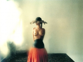 Miriam with hat, 1985